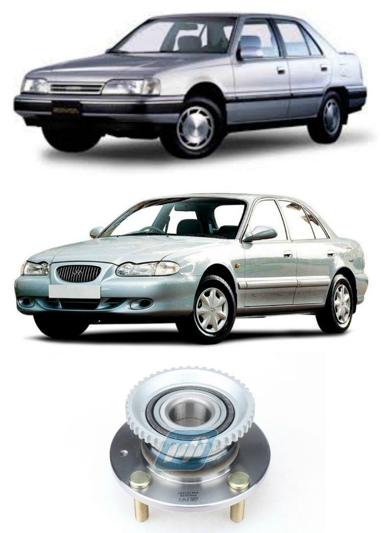 Cubo de Roda Traseira HYUNDAI Sonata 1993-1998, com ABS