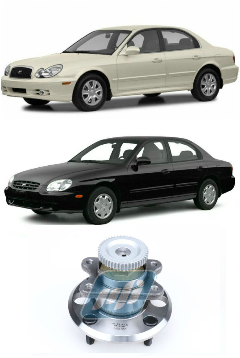 Cubo de Roda Traseira HYUNDAI Sonata 1999-2004, Com ABS