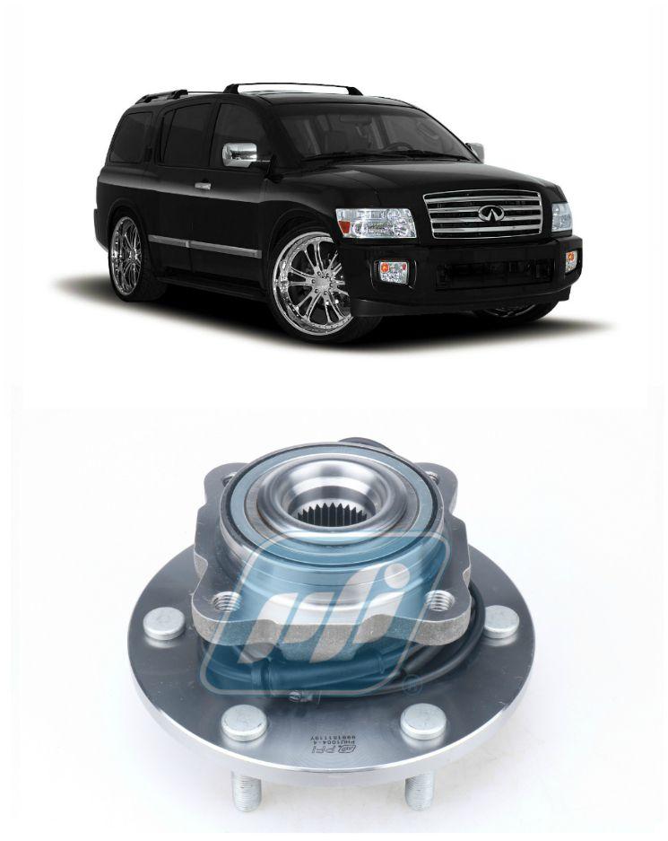 Cubo de Roda Traseira INFINITI QX56 2004-2013