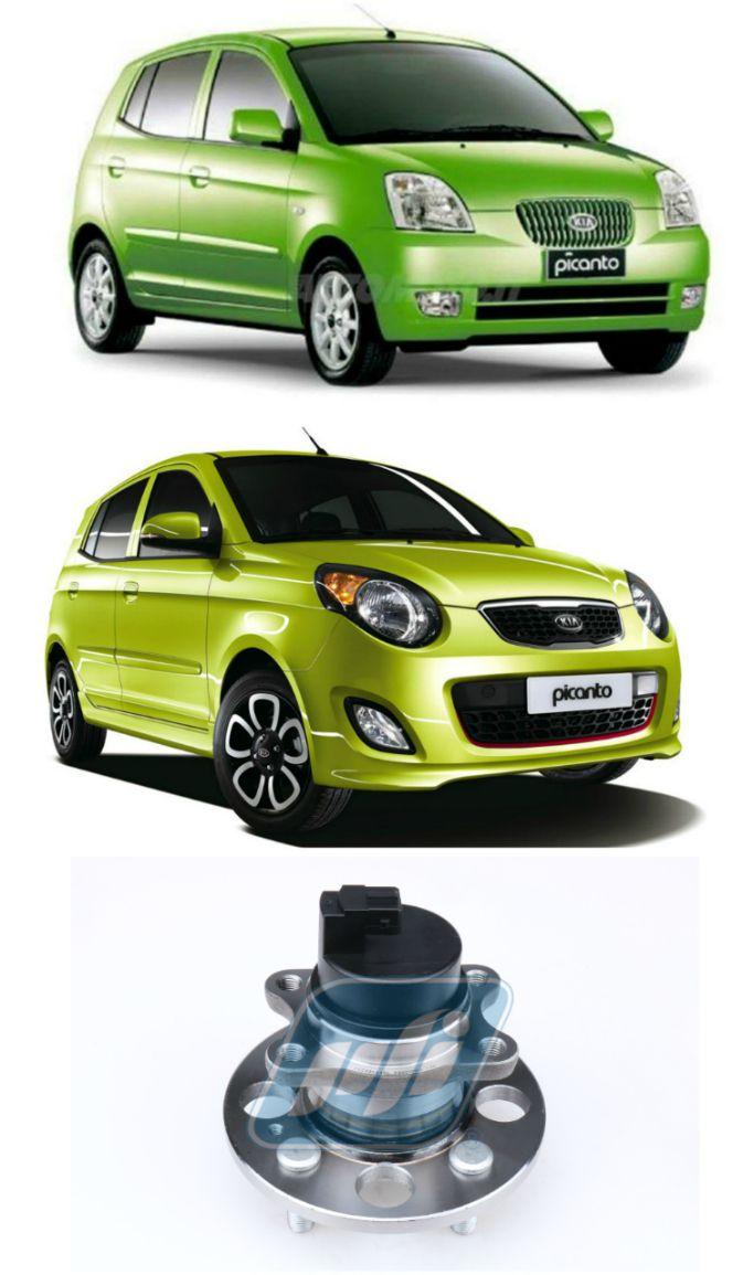 Cubo de Roda Traseira KIA Picanto 2004-2011 com ABS