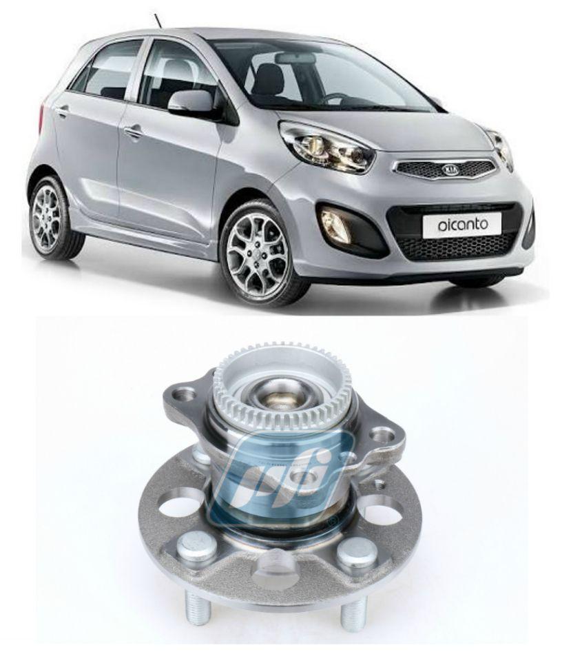 Cubo de Roda Traseira KIA Picanto 2012-2017 com ABS