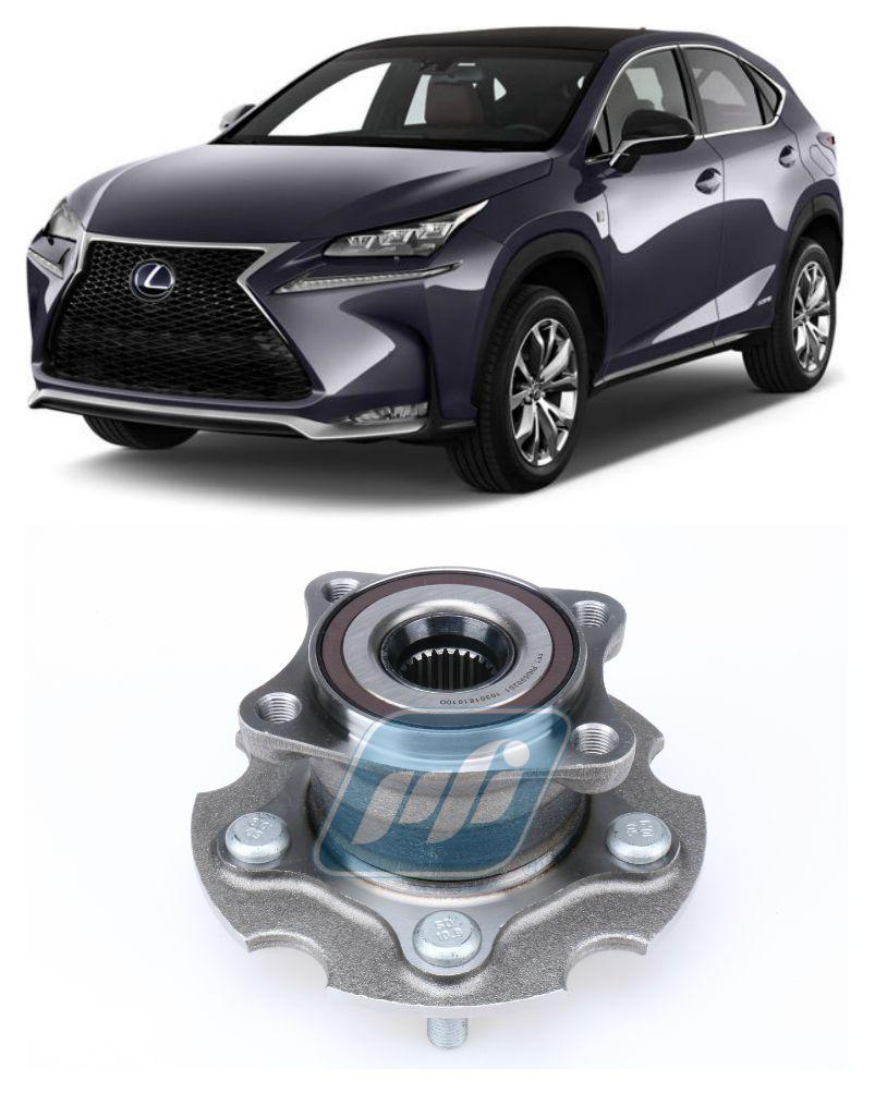 Cubo de roda Traseira LEXUS NX200T e NX300 2015 até 2018