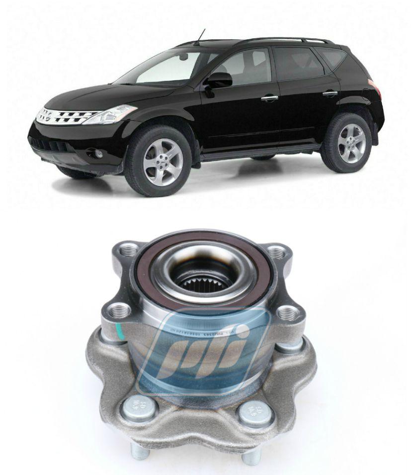 Cubo de Roda Traseira NISSAN Murano 2003-2007 AWD