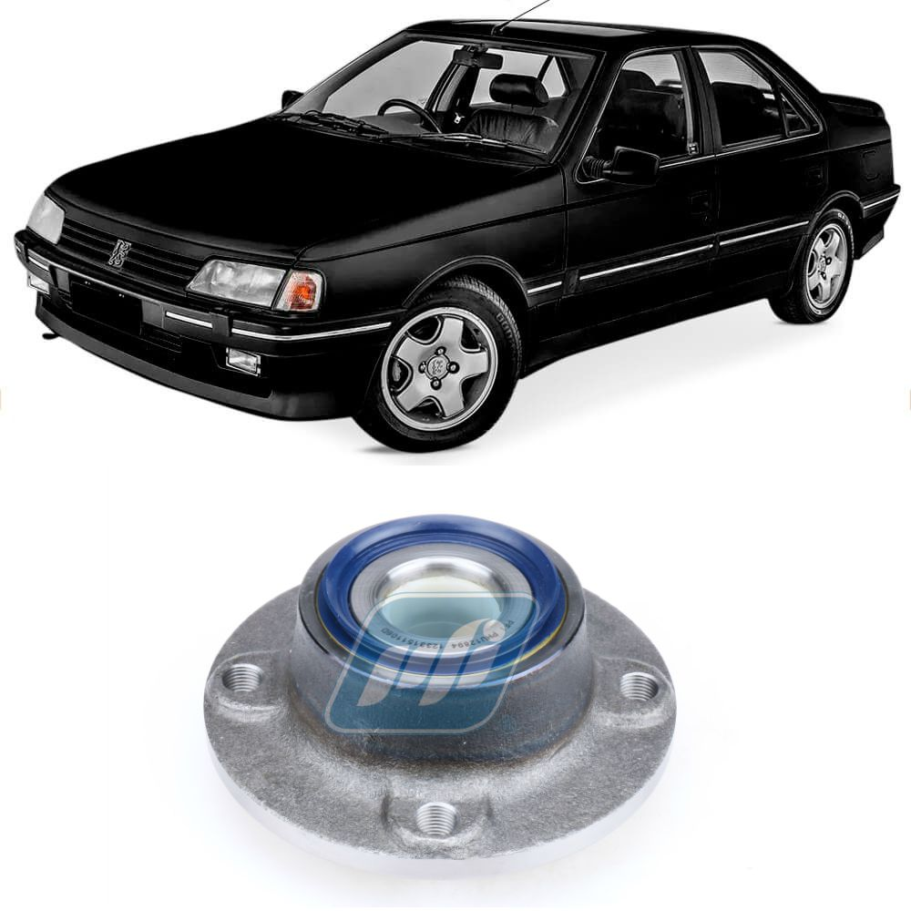 Cubo de Roda Traseira PEUGEOT 405 1987-1999, sem ABS