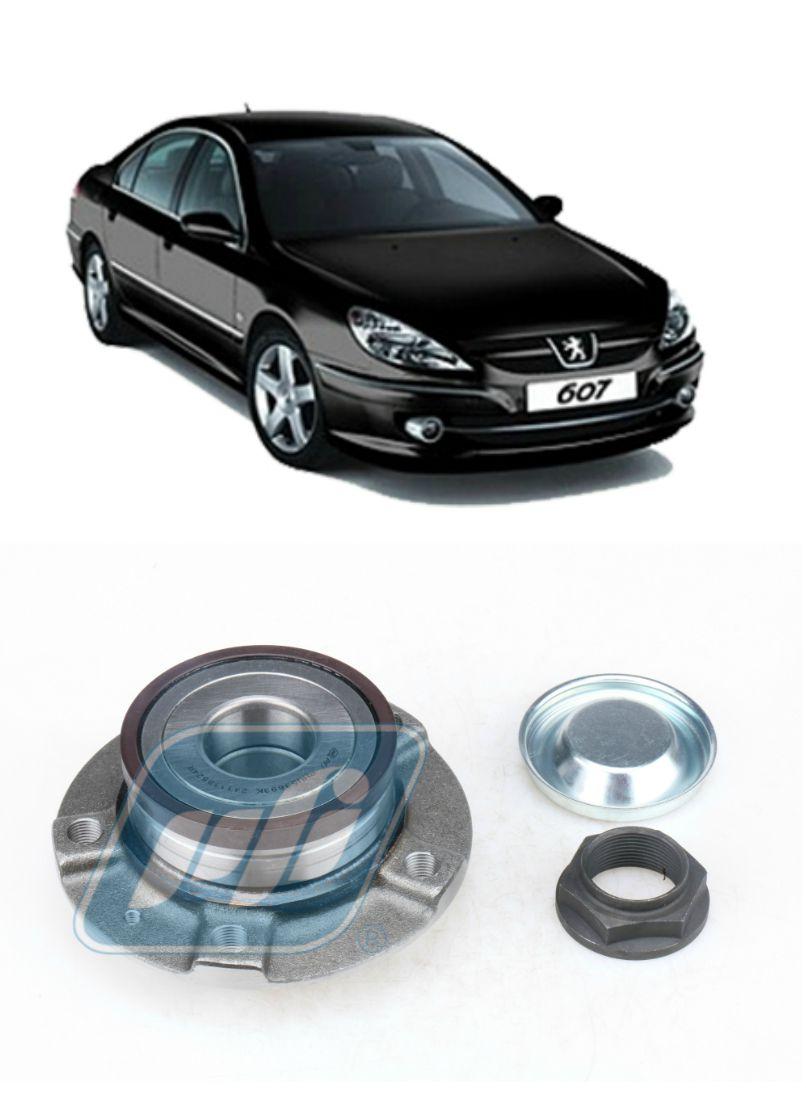Cubo de Roda Traseira Peugeot 607 2000 até 2010 com ABS