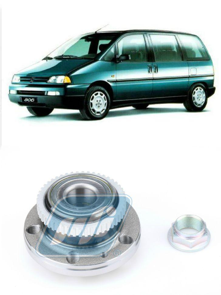Cubo de Roda Traseira PEUGEOT 806 de 1994 até 2002