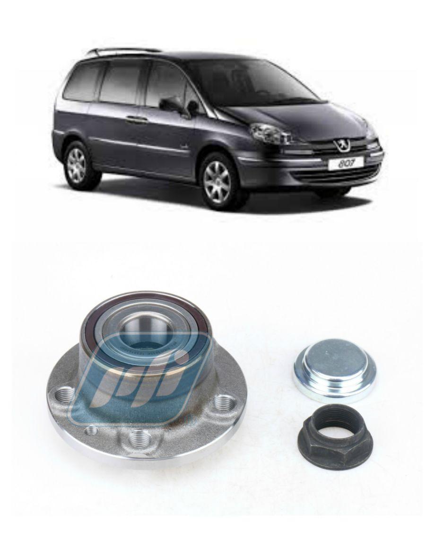 Cubo de Roda Traseira Peugeot 807 2002 até 2014, com ABS