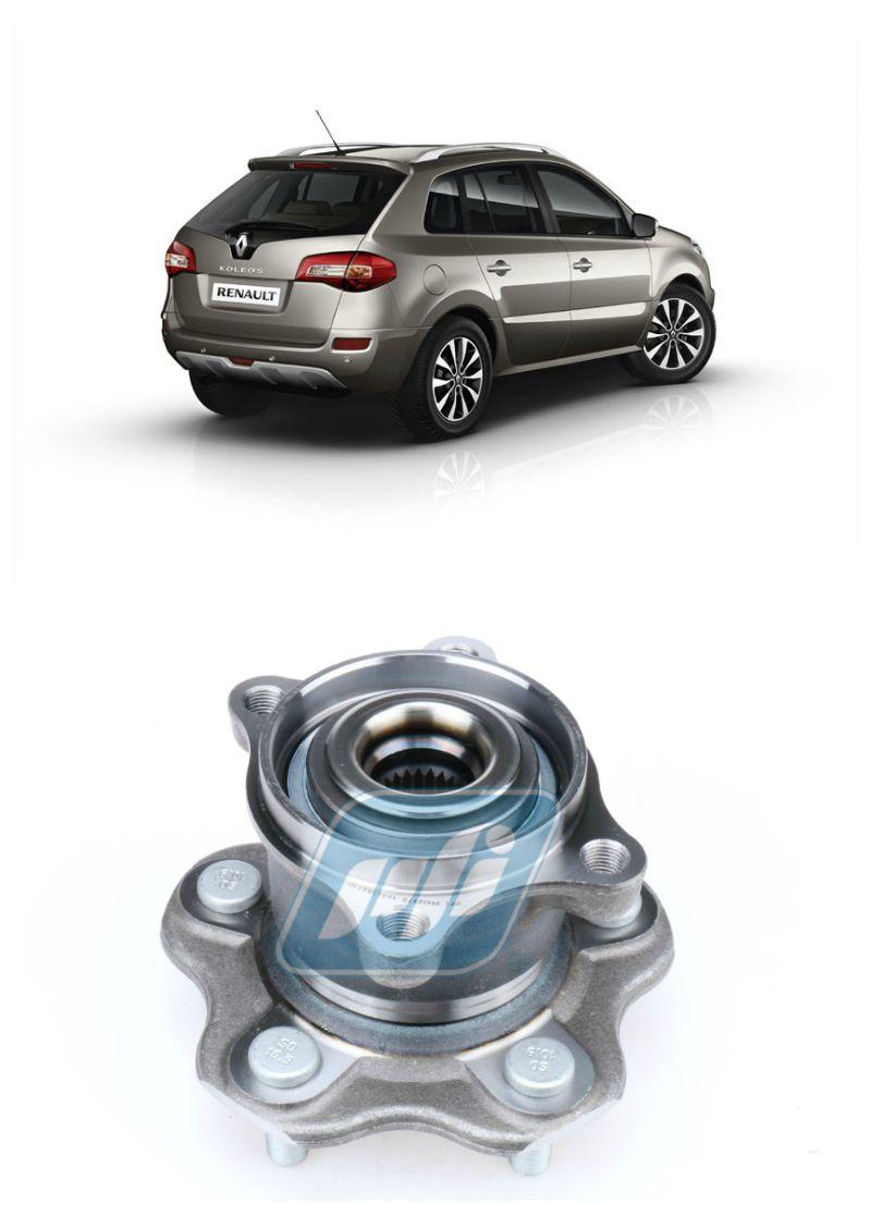 Cubo de Roda Traseira RENAULT Koleos 2004 até 2014 4x4 (4WD)
