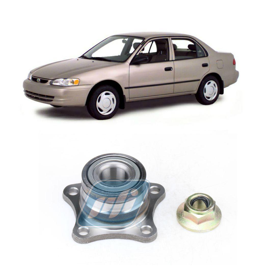 Cubo de roda Traseira Toyota Corolla 1987-2001