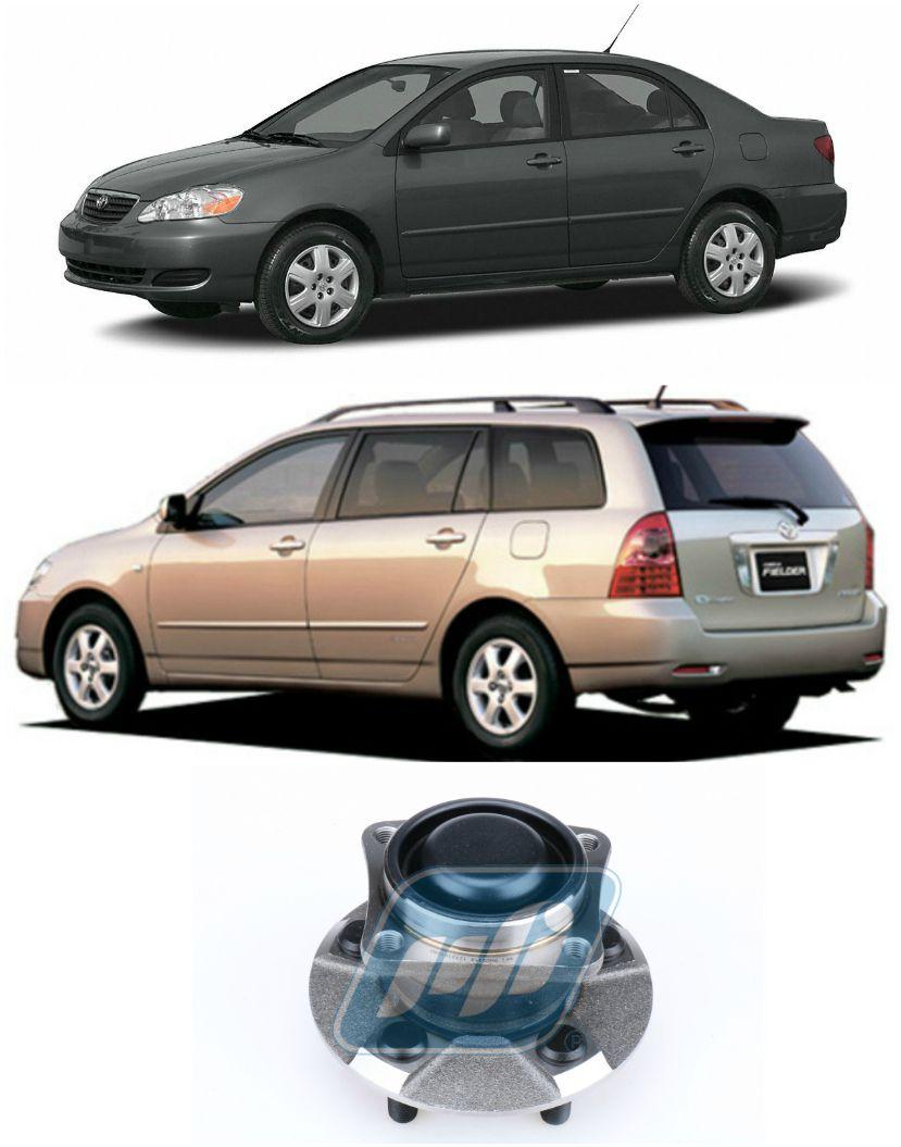 Cubo de Roda Traseira TOYOTA Corolla 2003-2008, 05 Furos, sem ABS