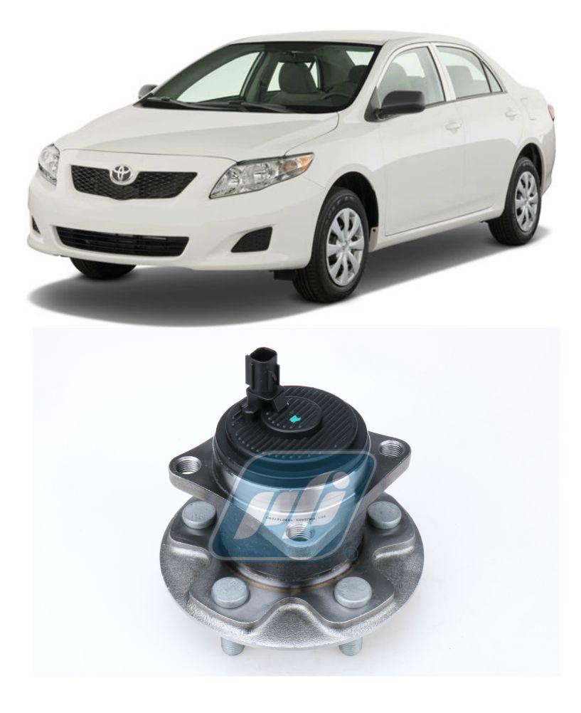 Cubo de Roda Traseira TOYOTA Corolla 2009-2015 com ABS