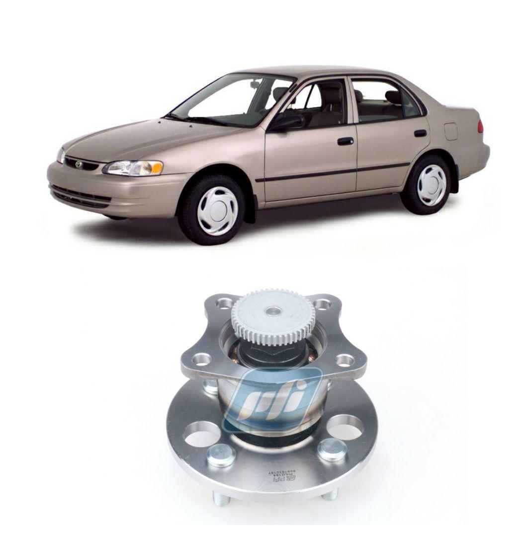 Cubo de Roda Traseira TOYOTA Corolla de 1993 até 2002, com ABS