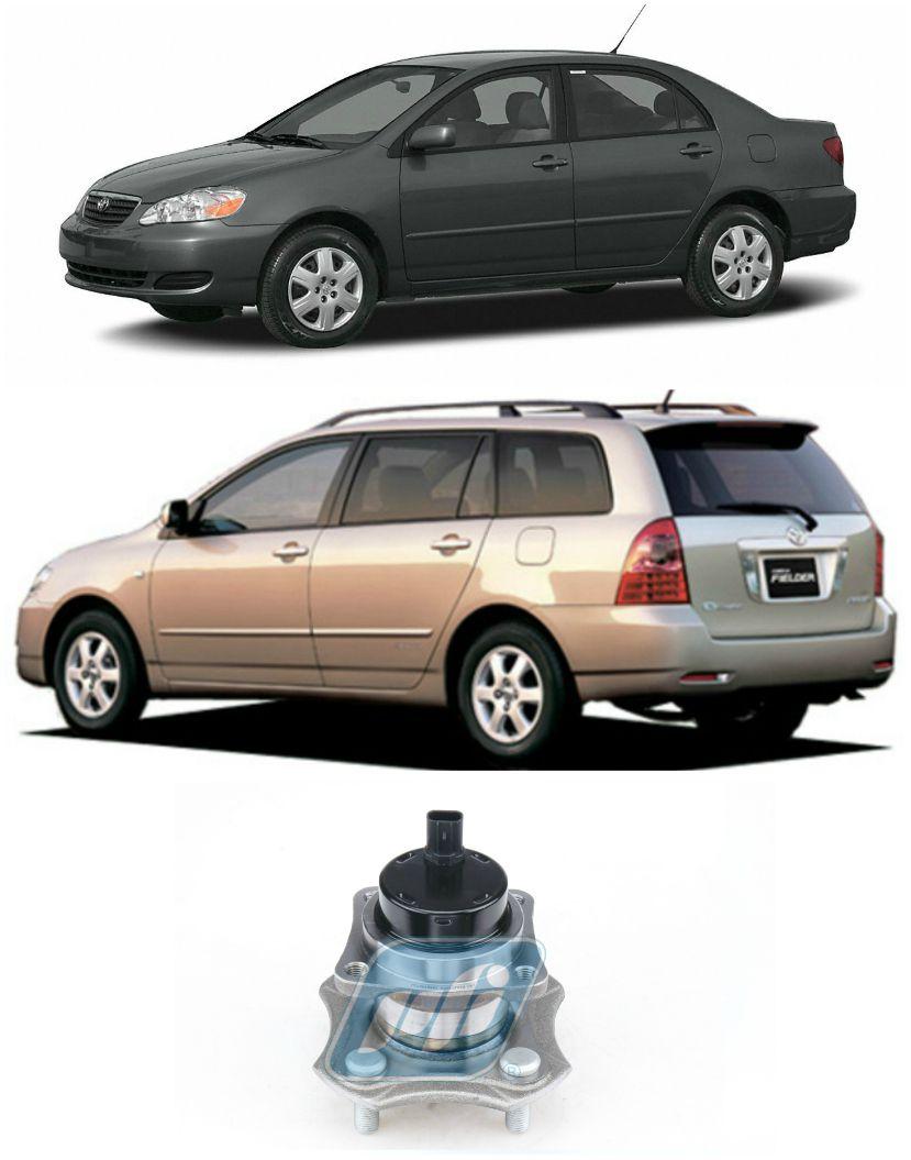 Cubo de Roda Traseira TOYOTA Corolla de 2003 até 2008, ABS