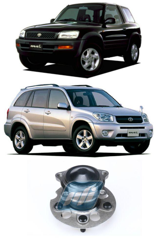 Cubo de Roda Traseira  TOYOTA RAV4 1996-2005, 4x2, sem ABS