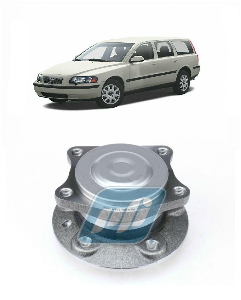 Cubo de Roda Traseira Volvo V70 1999 até 2008, 4x2, com ABS