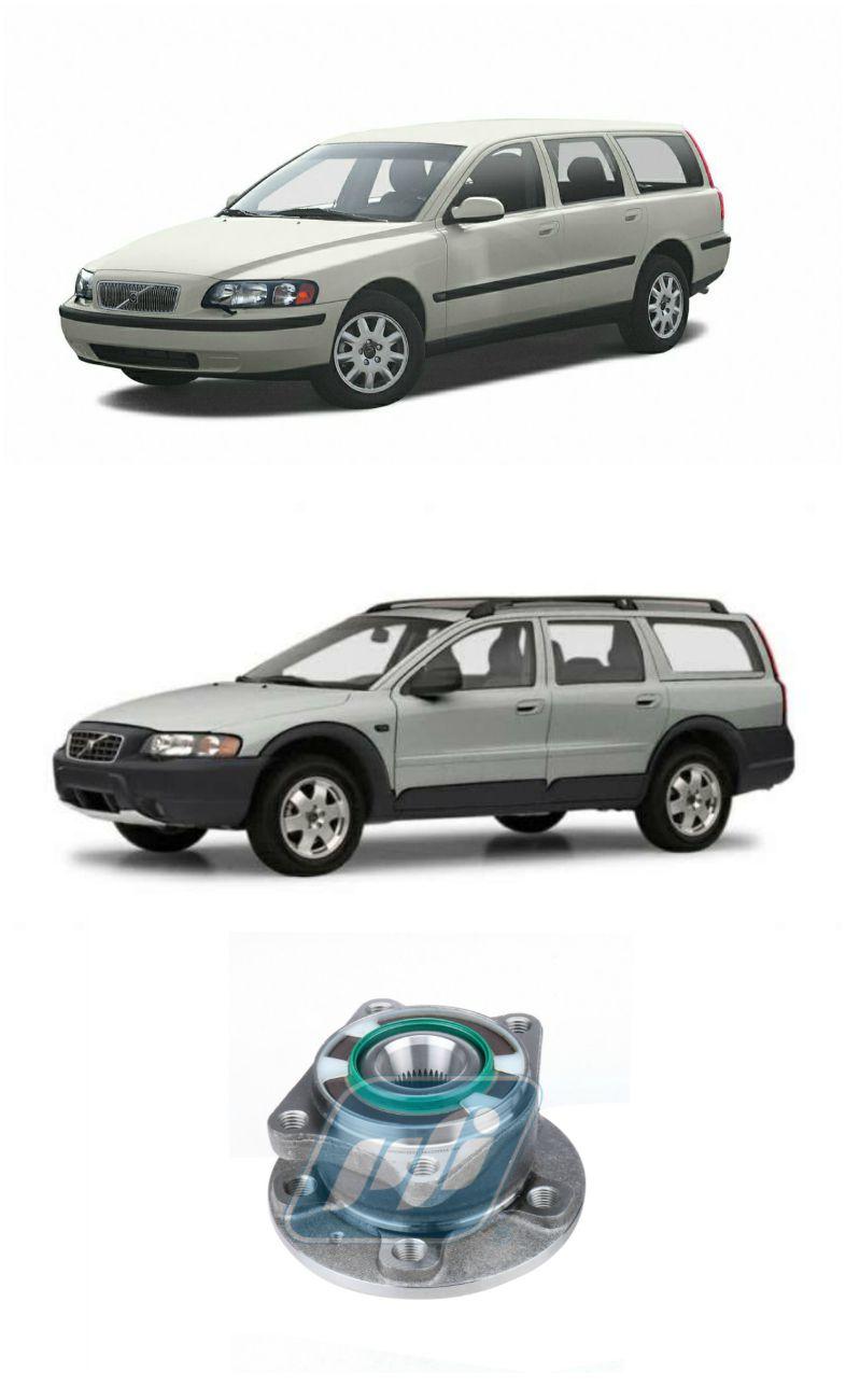 Cubo de Roda Traseira VOLVO V70 e XC70 2000 até 2007, AWD com ABS