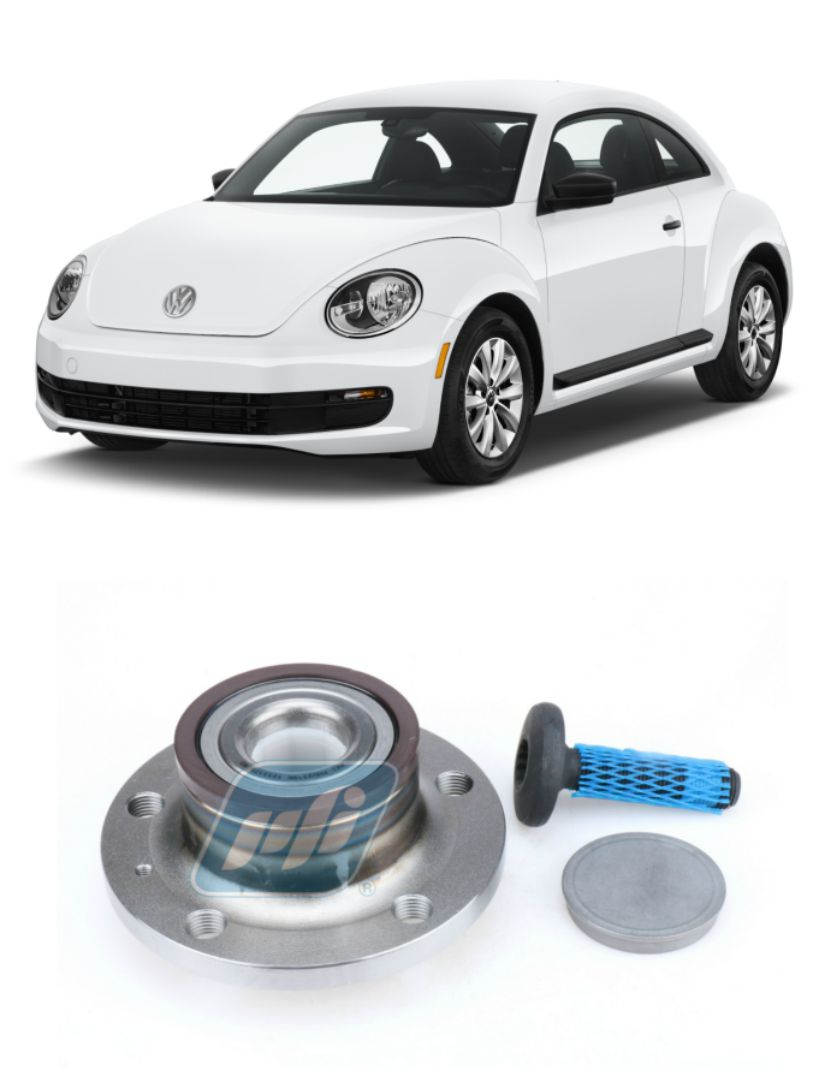Cubo de Roda Traseira VW Fusca 2011 até 2017 com ABS