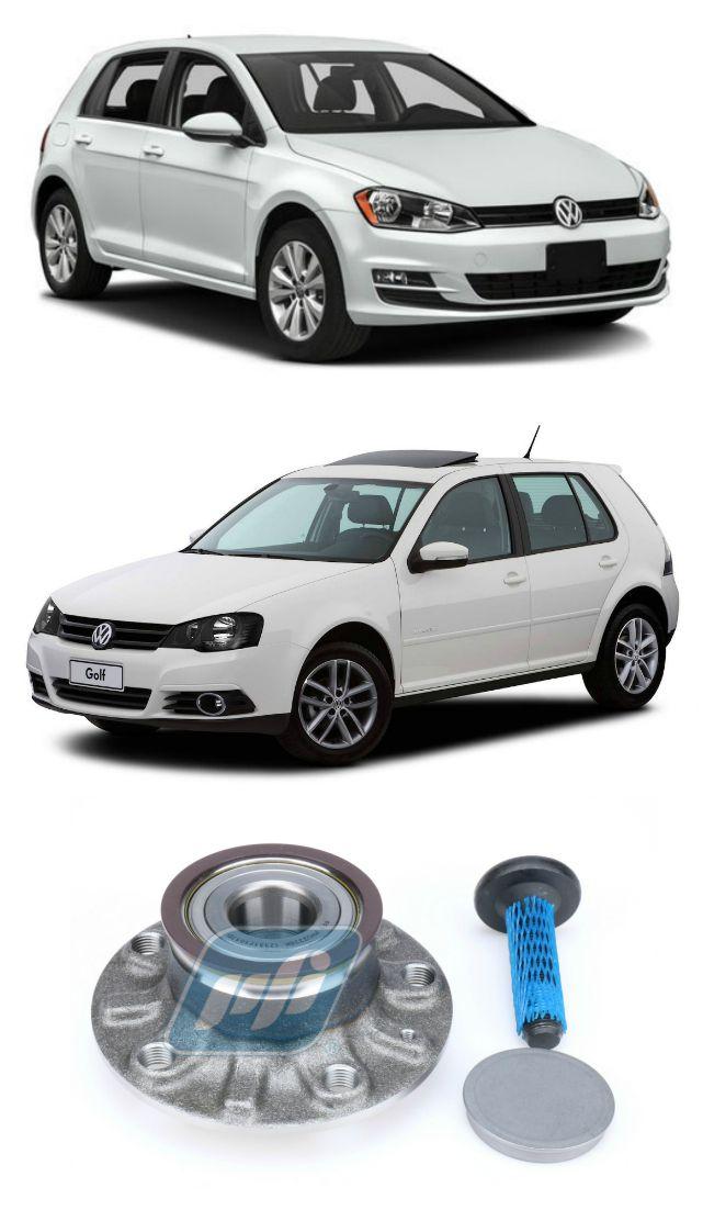 Cubo de Roda Traseira VW Golf 2003-2019 com ABS