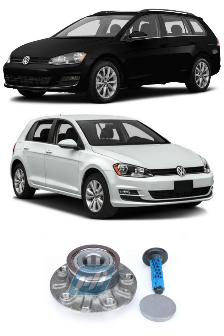 Cubo de Roda Traseira VW Golf 2013 até 2019 com ABS