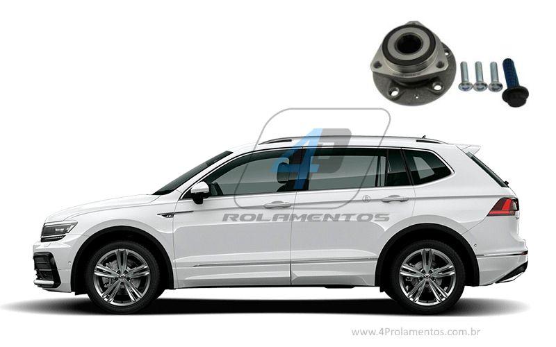 Cubo de Roda Traseira VW Tiguan Allspace 2017-2020