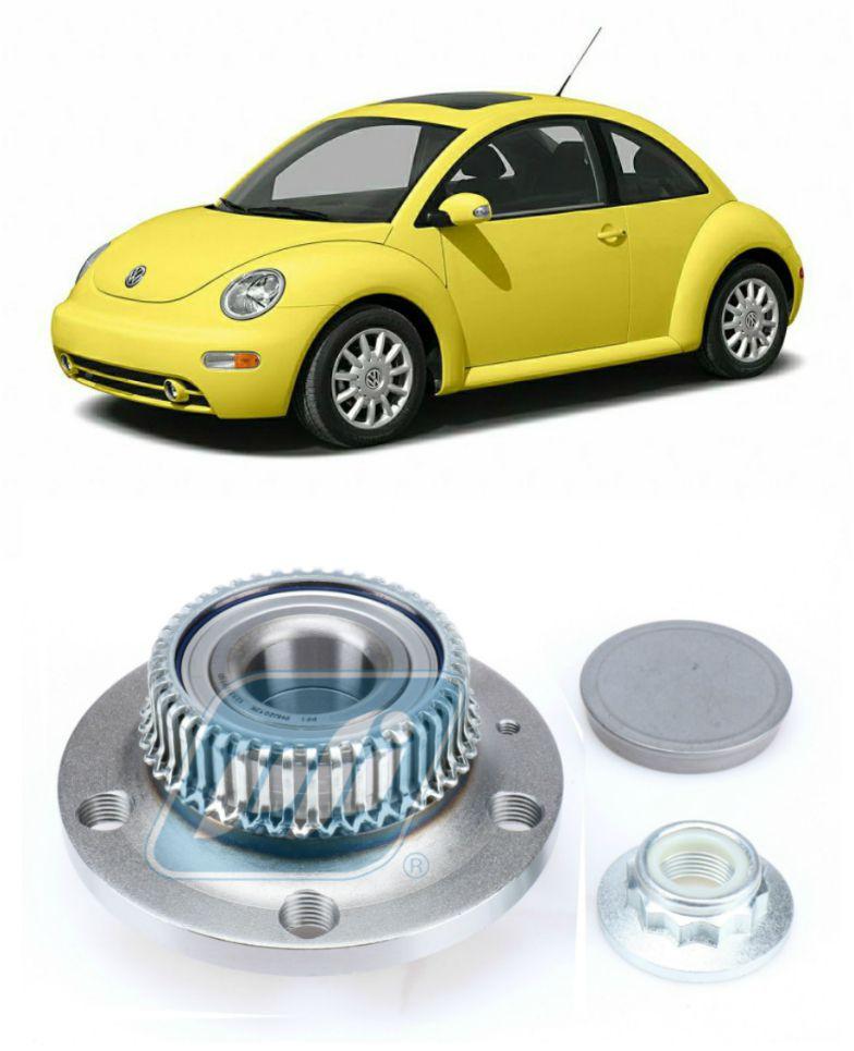 Cubo de Roda Traseira VW New Beetle 1998 até 2010, com ABS