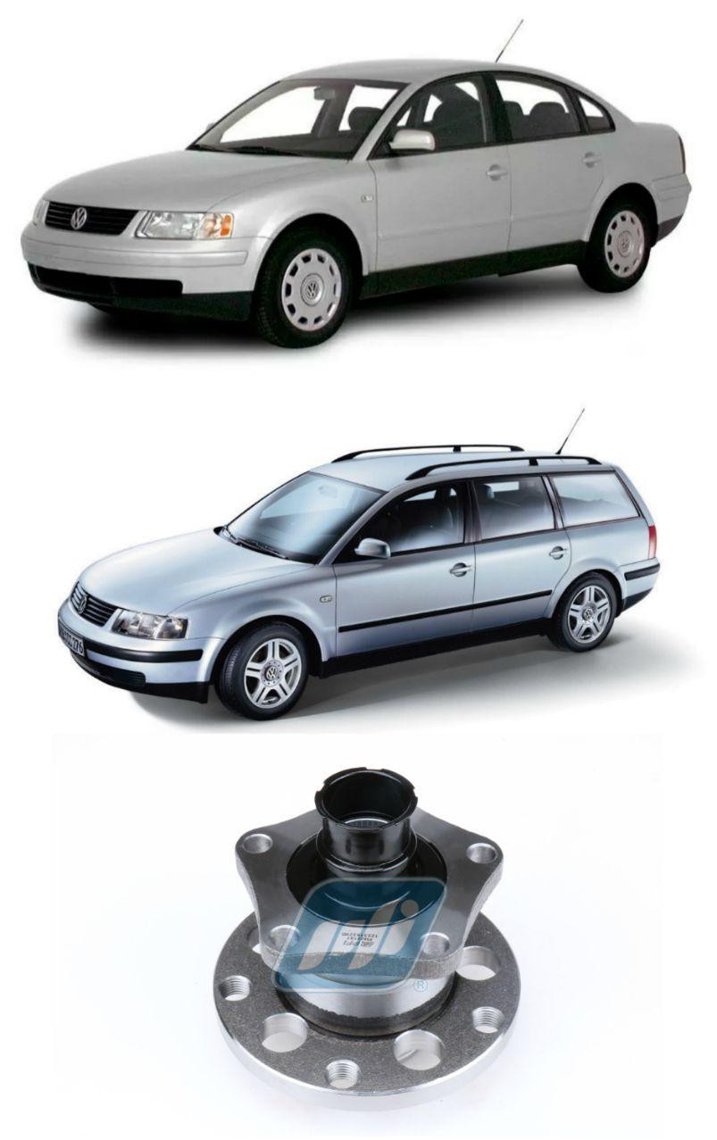Cubo de Roda Traseira VW Passat 1996 até 2005