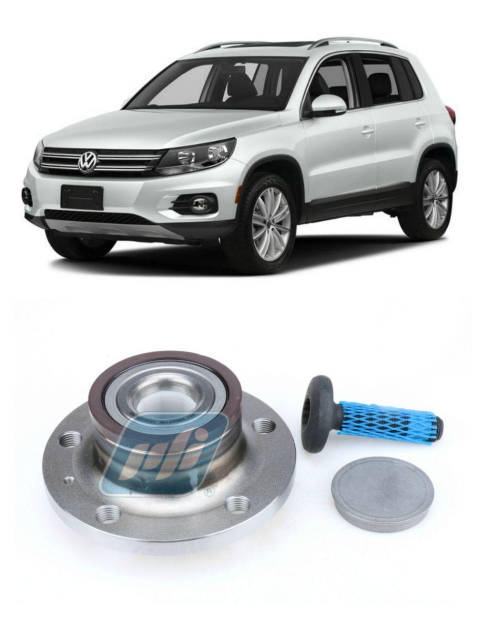 Cubo de Roda Traseira VW Tiguan 2016-2018, FWD, com ABS