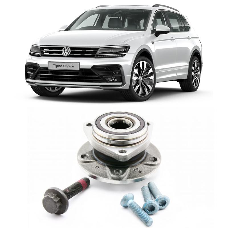Cubo de Roda Traseira VW Tiguan Allspace 2017 até 2020
