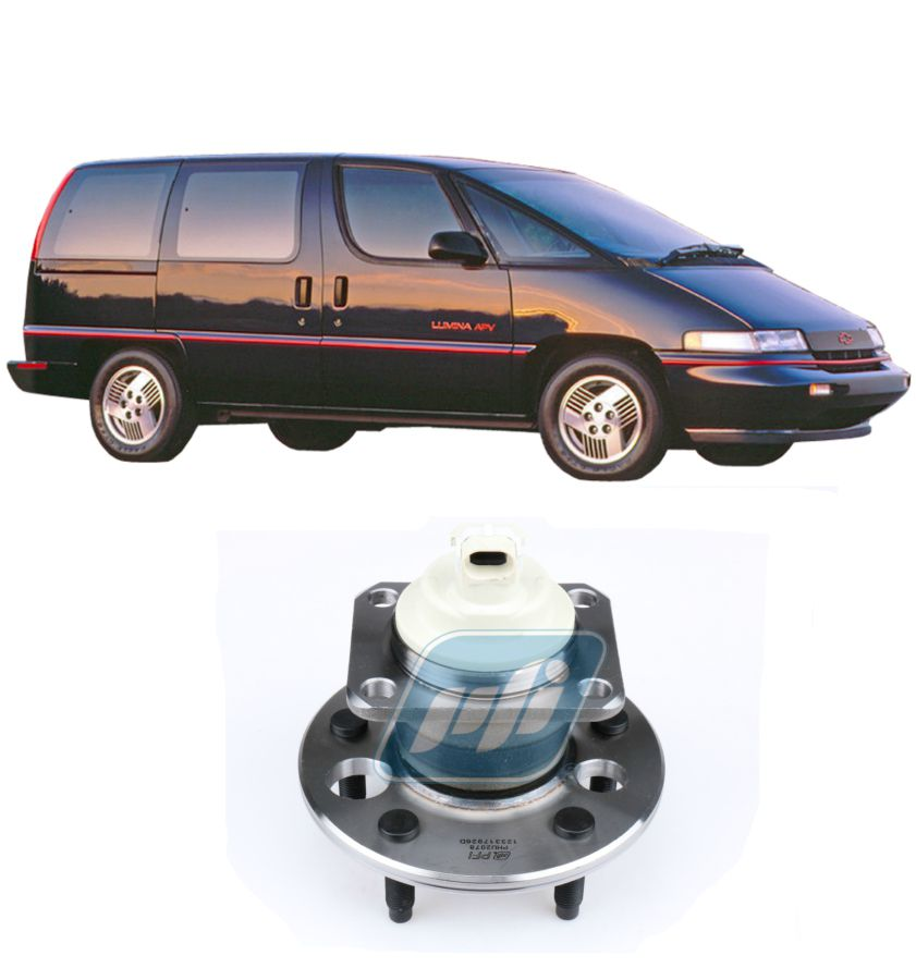 Cubo de Roda Traseiro CHEVROLET Lumina APV 1992-1994