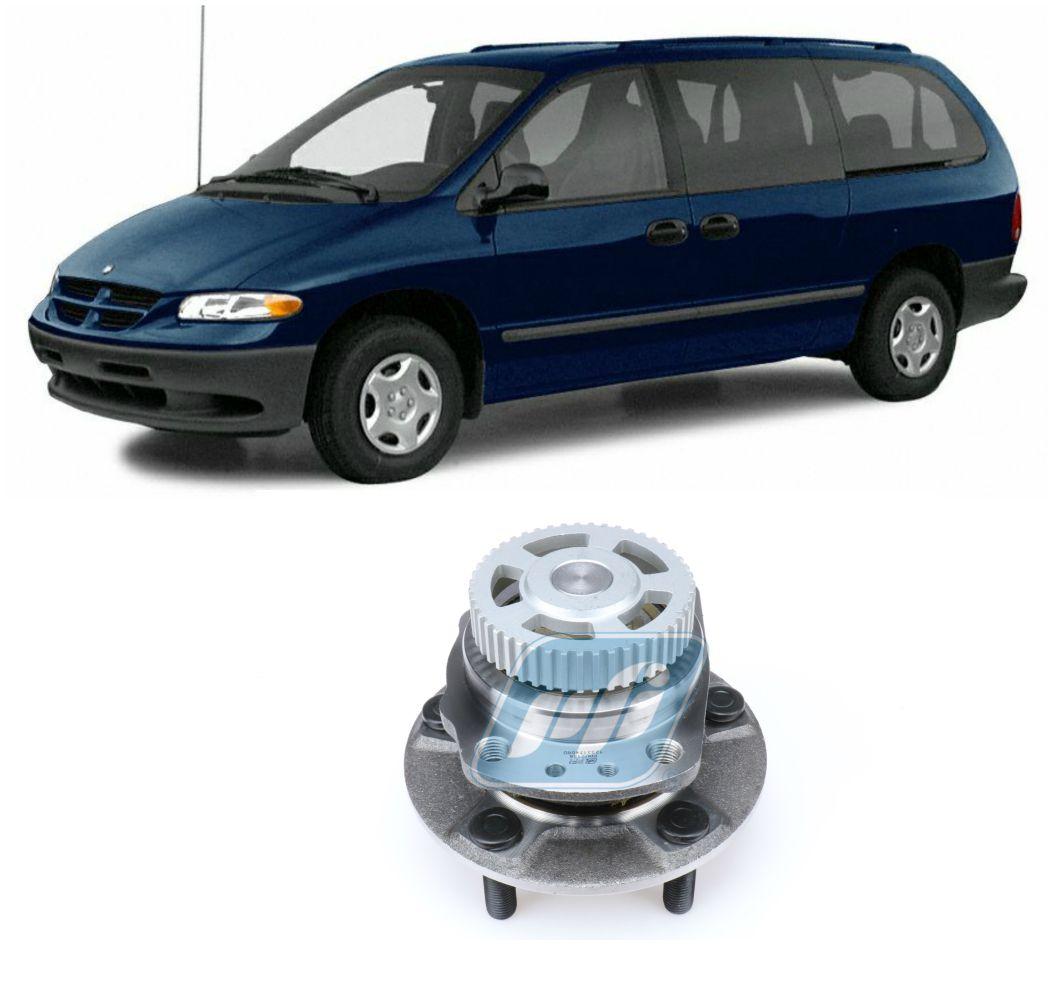 Cubo Roda Traseira CHRYSLER Caravan e Grand Caravan 1996-2000, FWD, com ABS