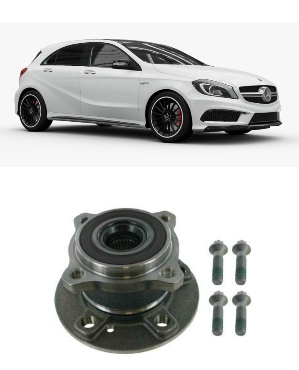 Cubo Roda Traseira Mercedes Benz A250/A45AMG 2013 até 2018, 4Matic, com ABS