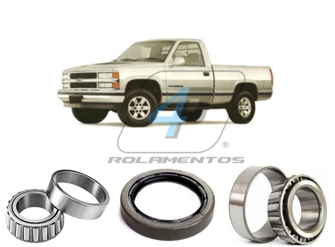 Kit Rolamento Roda Dianteira Chevrolet Silverado 1997 até 2002