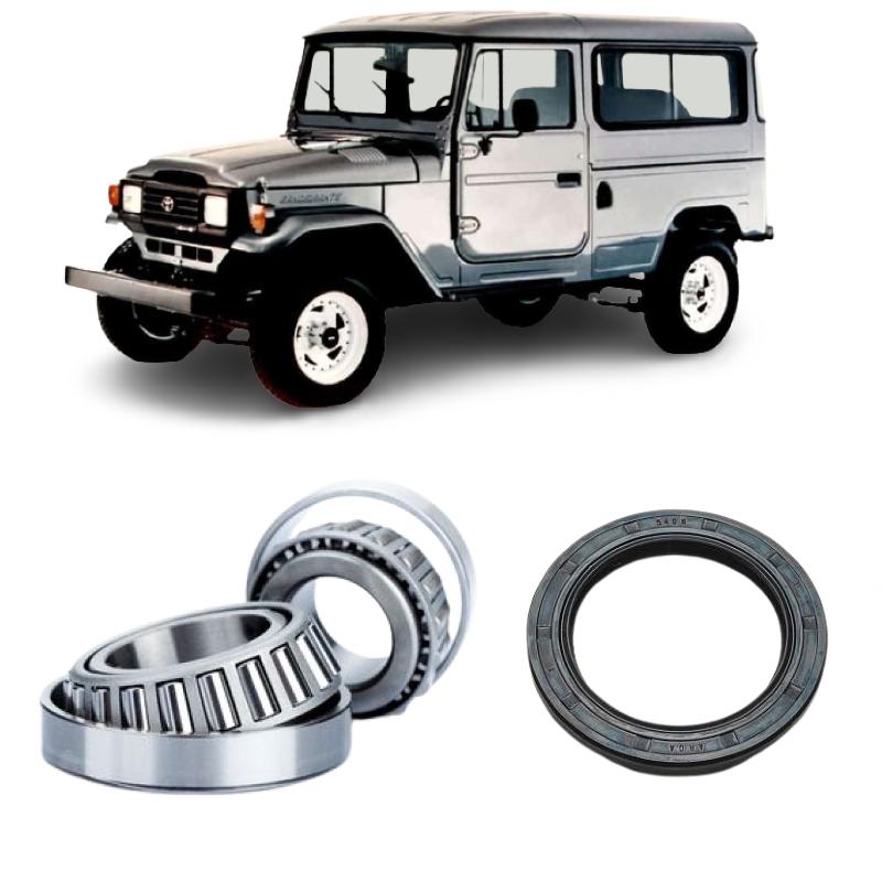 Kit Rolamento Roda Traseira Toyota Bandeirante 1983 até 2001