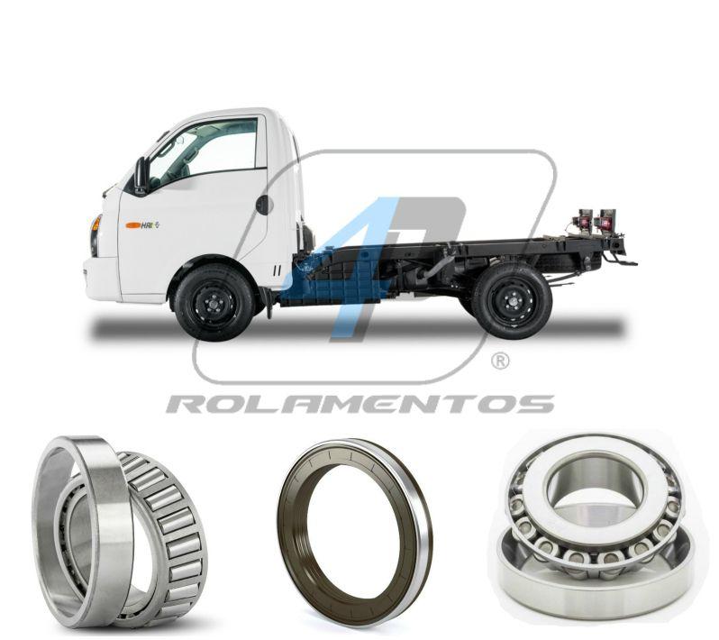 Kit Rolamentos Roda Dianteira Hyundai HR de 2005 até 2016