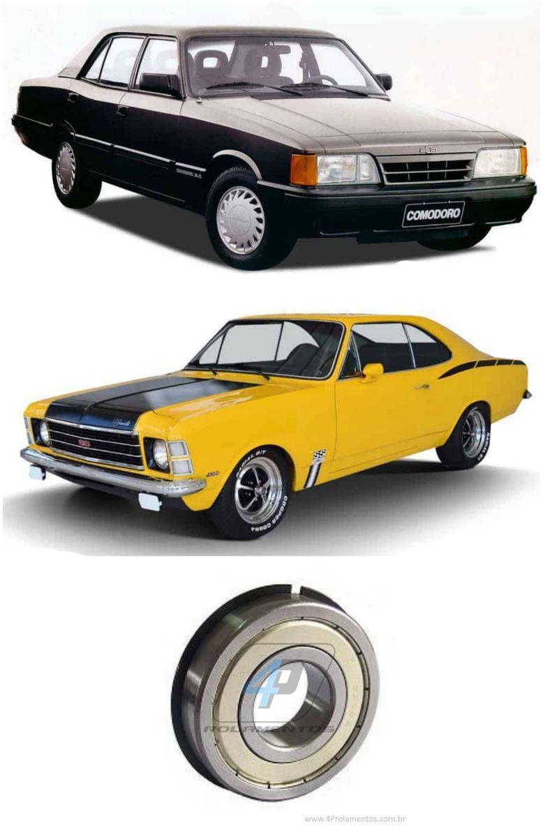 Rolamento Caixa de Cambio Chevrolet Opala/Caravan de 1974 até 1992