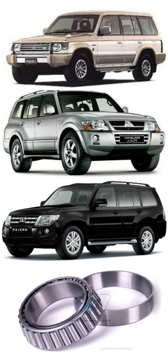 Rolamento Coroa Diferencial Dianteiro Mitsubishi Pajero de 1994 até 2017