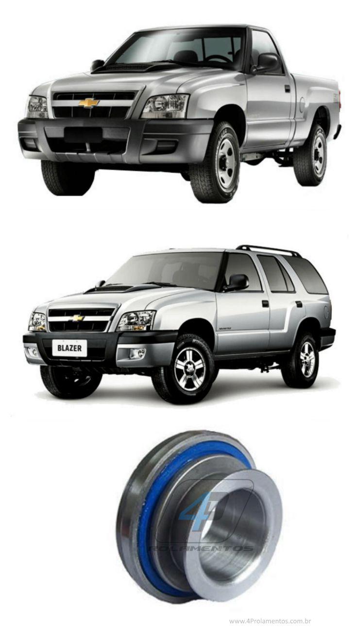 Rolamento de Embreagem Chevrolet S10/Blazer 1995 até 2009