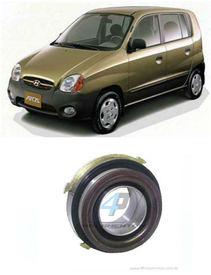 Rolamento de Embreagem Hyundai Atos de 2001 até 2003