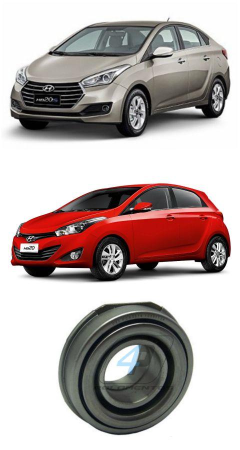 Rolamento de Embreagem Hyundai HB20 de 2016 até 2019