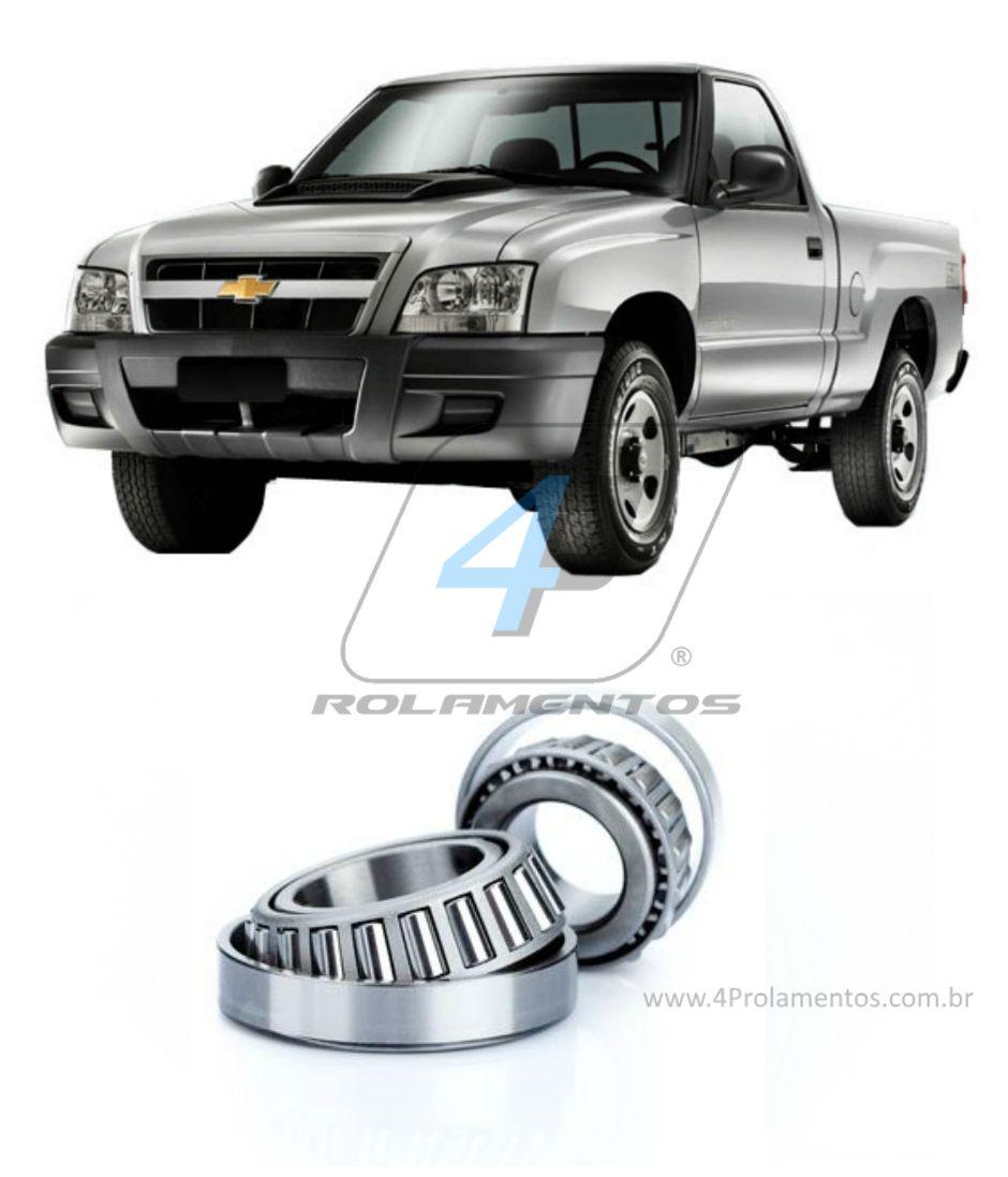 Rolamento de Roda dianteira CHEVROLET S10 4x2 1995-2011