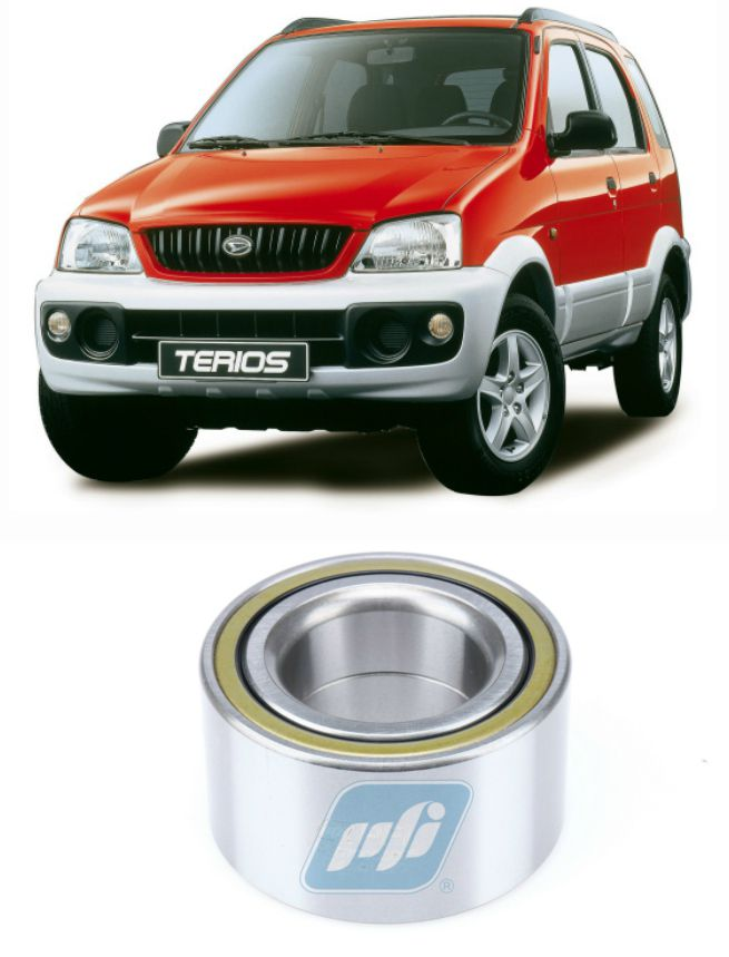 Rolamento de Roda Dianteira Daihatsu Terios 1997-2005