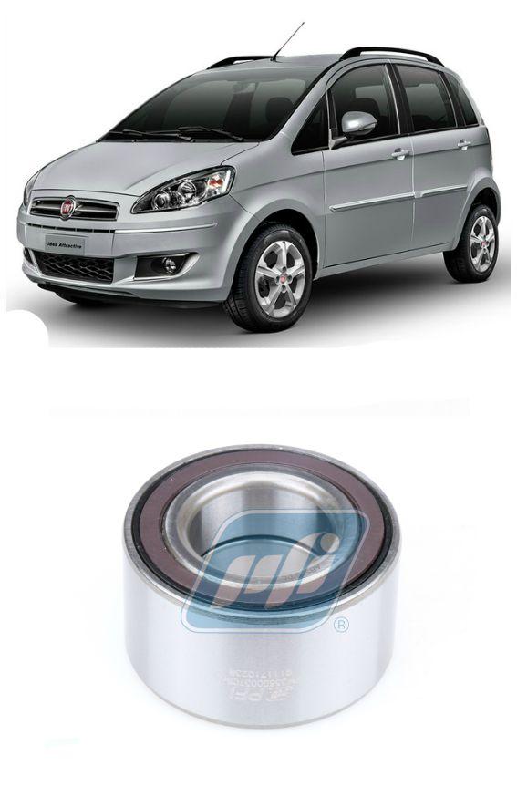 Rolamento de Roda Dianteira FIAT Idea (1.4L) 2011-2016, com ABS