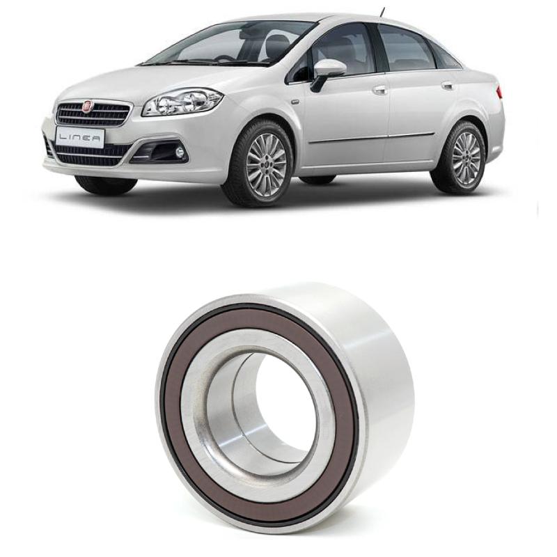 Rolamento de Roda Dianteira FIAT Linea Tjet 2009 até 2016, ABS