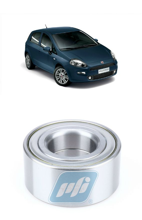 Rolamento de Roda Dianteira FIAT Punto (1.4L) 2007-2013, sem ABS