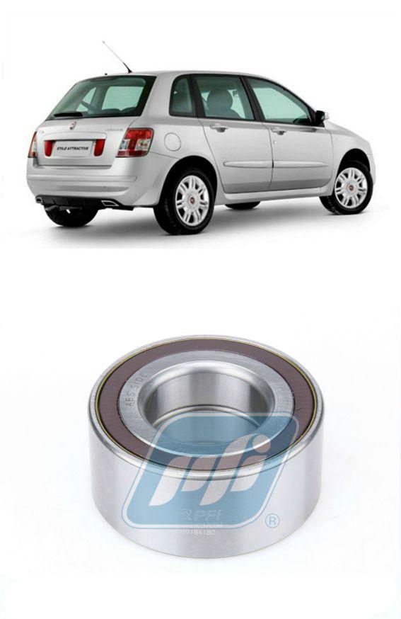 Rolamento de roda Dianteira FIAT Stilo (2.4L) 2002-2011, com ABS
