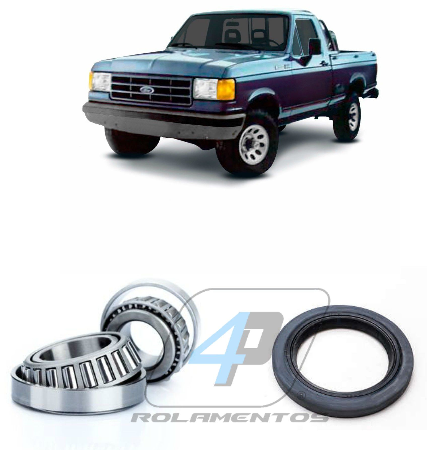 Rolamento de roda dianteira Ford F-1000 1990 até 1996
