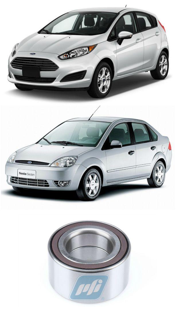 Rolamento de Roda Dianteira FORD Fiesta 2003 até 2018 com ABS