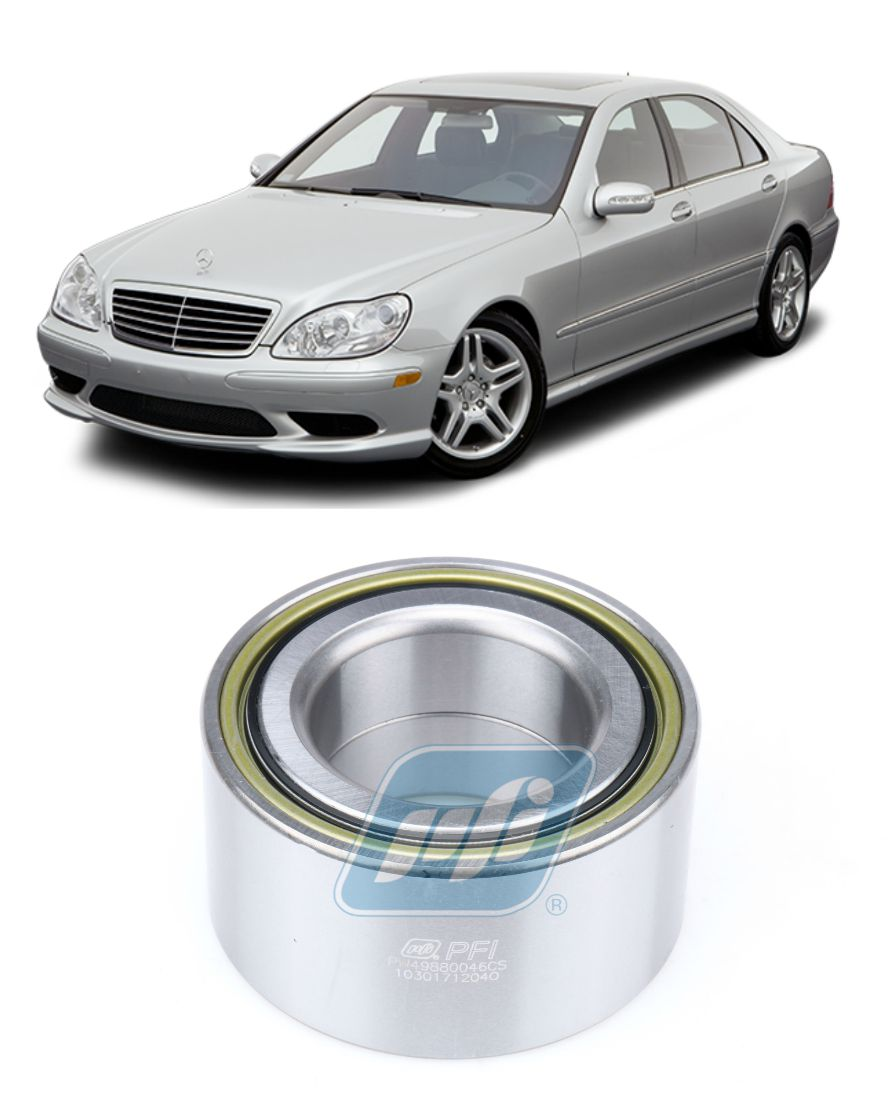 Rolamento de Roda Dianteira MERCEDES BENZ S430 2002 até 2005, 4matic