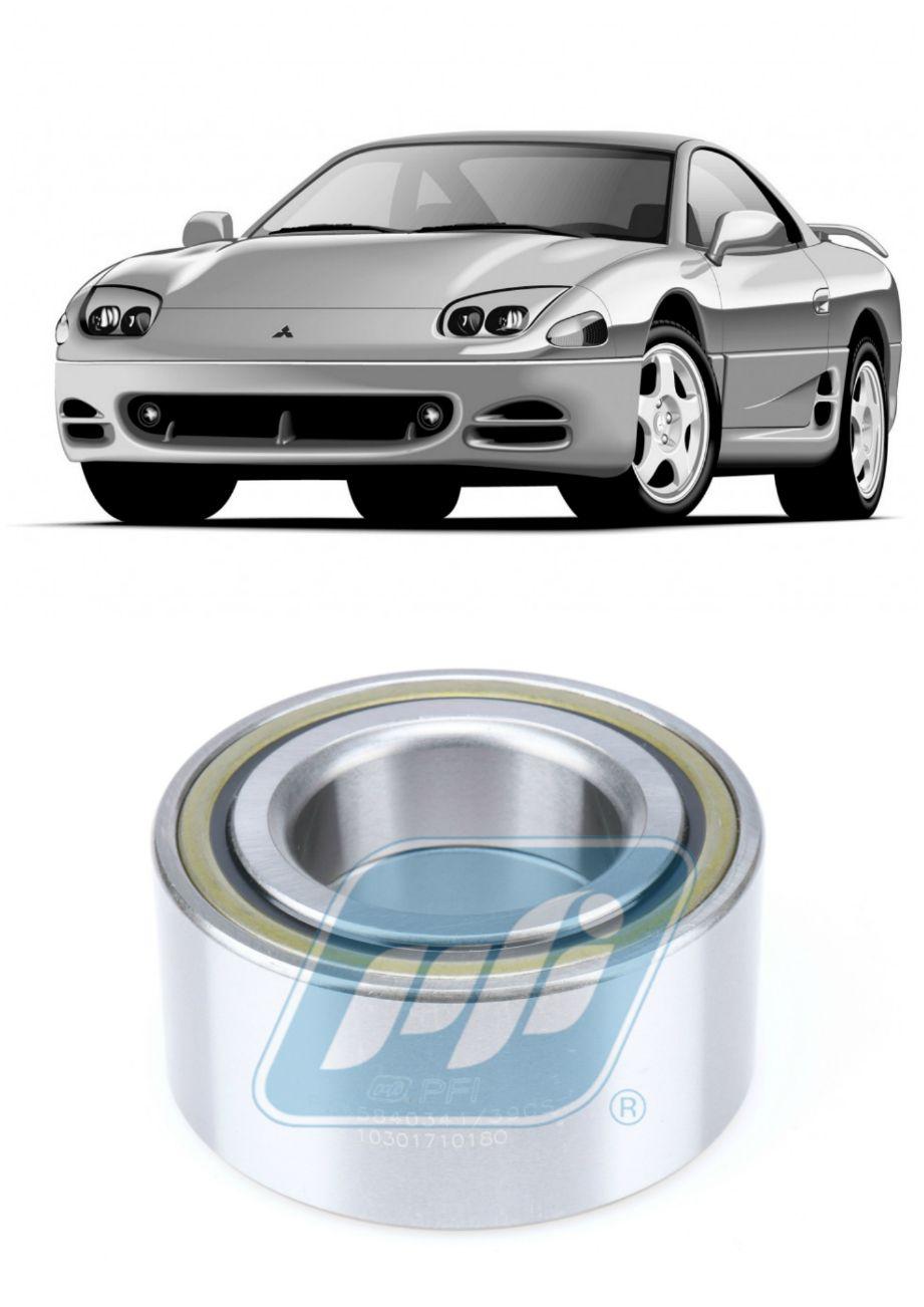 Rolamento de Roda Dianteira MITSUBISHI 3000GT 1991 até 1999, FWD