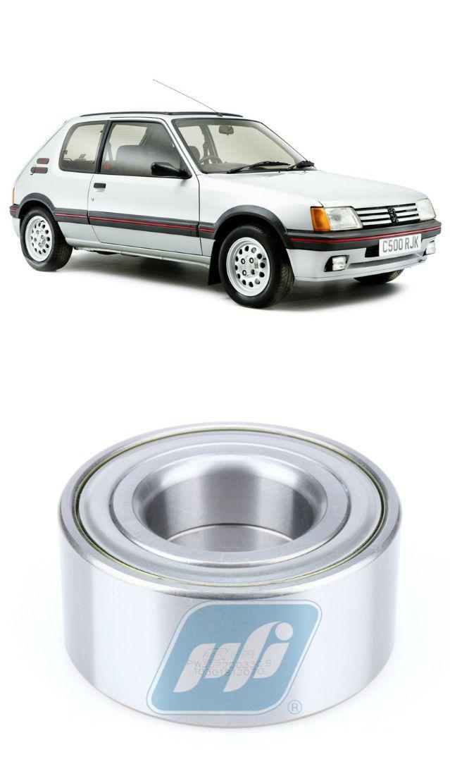 Rolamento de Roda Dianteira PEUGEOT 205 1983-1998, sem ABS